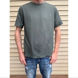 Croft & barrow short sleeve t-shirt green large